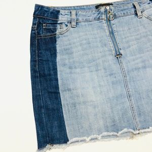 Fashion Nova Blue Jean Skirt | 12